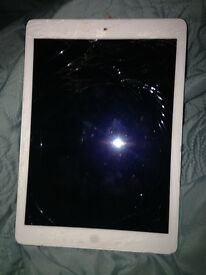 iPad Air screen is broken and needs repairing