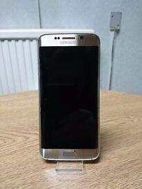 Samsung Galaxy S6 Edge 32GB Gold Platinum Vodafone FULLY BOXED *12 Month Warranty*