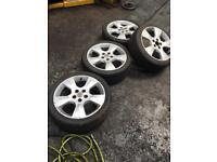 """Vauxhall 17"""" alloy wheels alloys"""