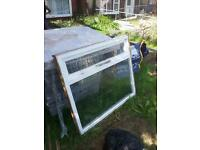 Free single glazed window