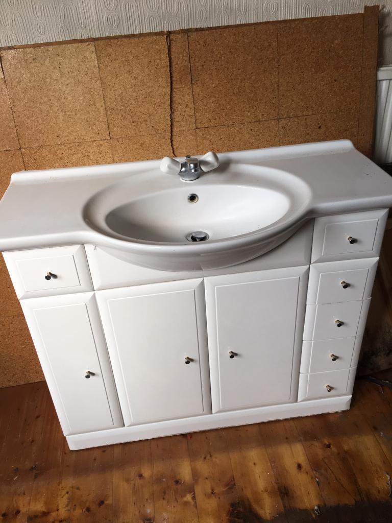 Bathroom Sinks Gumtree bathroom sink and vanity unit | in darlington, county durham | gumtree