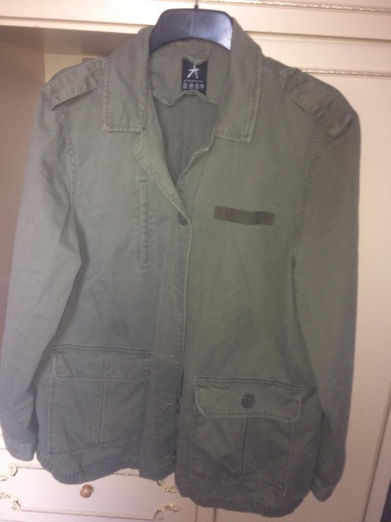 Size 18 army green jacket womens
