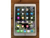 Apple iPad Air 2 64gb White - Wifi + Cellular - Comes with extras Adonit Stylus and Leather Case