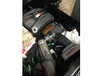 Ingersoll Rand battery power tool set