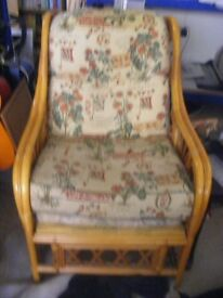 2 cane Arm chairs