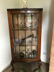 Beautifully Carved: Edwardian Display Cabinet
