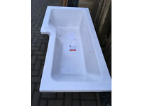 Item picture BRAND NEW LEFT HAND L SHAPED SHOWER BATH