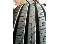 Tyre 205 55 16. Asnew 6mm