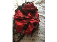 Trespass Red Backpack