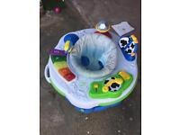 Baby bouncer and rocking