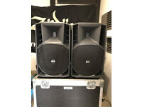 RCF active PA system