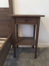 Ikea Hemnes Bed Frame & Bed Side Tables