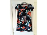 Floral Navy Shift Dress