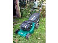 Qualcast petrol mower for sale