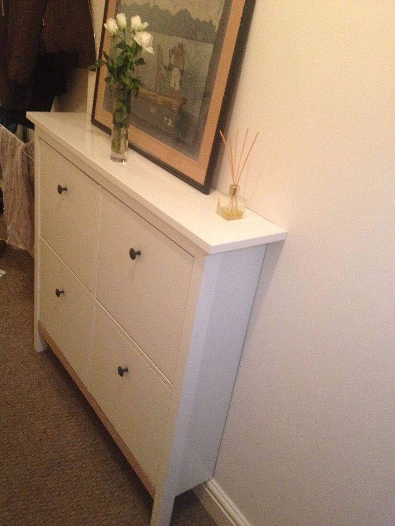 Ikea Shoe Drawers Ikea Hemnes Shoe Cabinet With 4 Compartments In Cotham Bristol