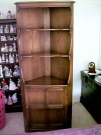 Ercol Golden Dawn Corner Cabinet
