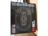 DS18 BD-G694 Black Diamond 540 Watts speakers