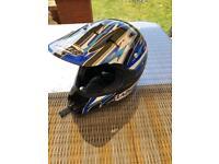 Lazar motorbike helmet