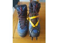 Mens Salomon X Alp MTN GTX B1 Boots C1 compatible Winter Walking Boots