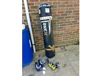 Punch bag and accessories