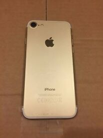 BRAND NEW BOXED 32GB APPLE iPhone 7,UNLOCKED,SEALED ACCESSORIES,GOLD COLOR