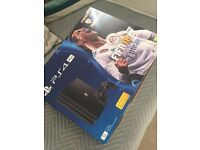 Playstation 4 Pro with Fifa 18 Brand New Sealed For Sale