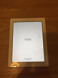 iPad 4 Retina display 64Gig SIM card and wifi