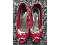 Girls Pink Party Shoes