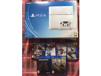 Ps4 white 6 games delivery