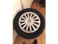 14 inch wheel plus tyres for VW polo golf Seat Ibiza etc