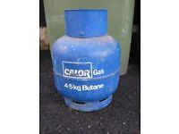 Calorgas Butane Bottle 4.5kg Full