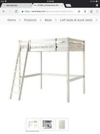 Bunk bed , double bed by IKEA