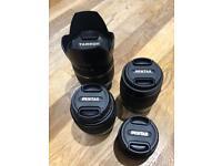 Pentax K Mount Lenses