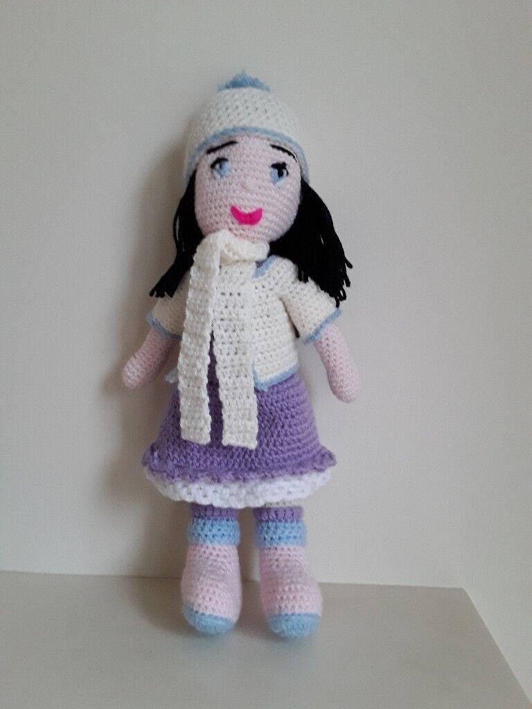 Molly Doll crochet pattern - Amigurumi Today | 1024x768