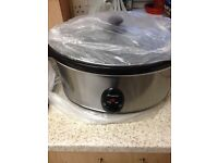 Hi I am selling my slow cooker this is brand new unused still in the box 6.5 liter