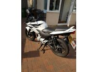White Honda CBF125 - LOW MILEAGE