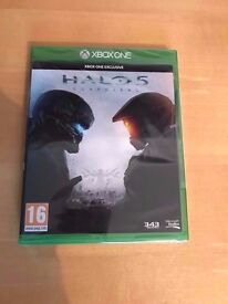 halo 5 , brand new & sealed , xbox one ! price stands , no offers ! will post !
