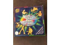 Spot the intro board game