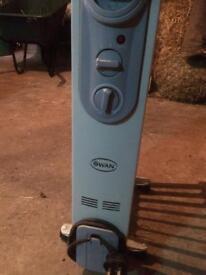 Swan Oil filled electric radiator