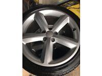 Original A5 Audi Alloy wheels