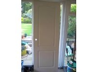 5 White Woodgrain Internal Doors
