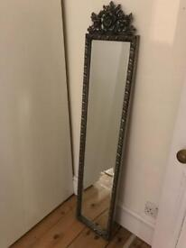 Beautiful ornate hallway mirror