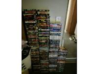 Loads of dvds and blu ray