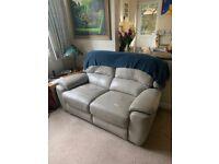 Reclining Leather Sofa - Sofology