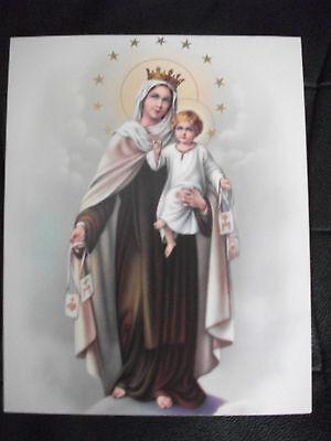 Bild, Marienbild, Papier - 20x25 cm