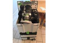 Festool 2200 router and midi dust extractor.
