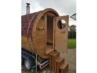 Sauna for hire
