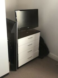 Chest of draws and bedside tables