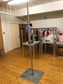 Pole Dancing Practice Poles (free standing) Stainless Steel