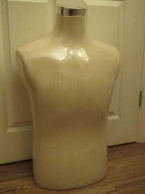 Male mannequin, chest tailor dummy